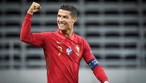 Son dakika | Cristiano Ronaldo yine tarihe geçti