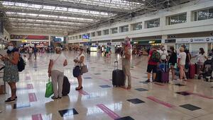 Antalyaya gelen turist sayısı 1.5 milyonu geçti