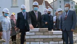 Bünde'de DİTİB camisi ve külliyesinin temeli törenle atıldı