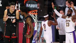 NBAde Gecenin Sonuçları | Miami Heat konferans finalinde LA Lakers bir adım öne geçti...