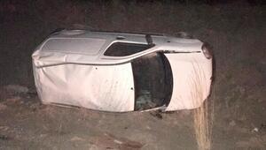 Sivasta otomobil devrildi: 6 yaralı