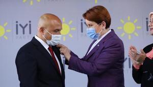 Bağımsız Milletvekili Erhan Usta İYİ Partiye katıldı
