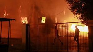 Yunanistanda büyük insanlık dramı Moria Kampı kül oldu, hükümet OHAL ilan etti