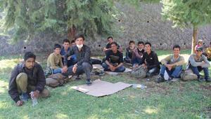 Göçmenlerin umut yolculuğu Diyarbakırda son buldu
