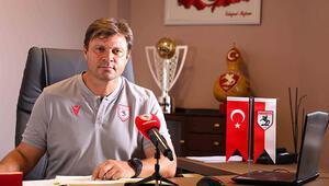 Samsunspor Teknik Direktörü Ertuğrul Sağlam: Sempatik bir takım olmak istiyoruz