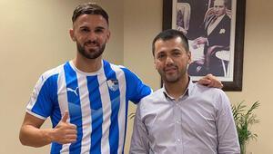 """Erzurumsporlu futbolcu Armando Sadiku: """"Transferim çok hızlı gerçekleşti"""