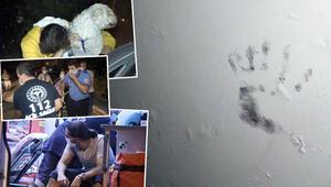 Yangında mahsur kalan 3 kişi ve bir köpek kurtarıldı