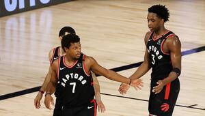 NBAde Gecenin Sonuçları | Raptors, iki uzatma sonunda Celticsi yendi Seri 3-3 oldu...