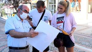 Edirneye gelen turistlere, Bulgarca afişlerle uyarı