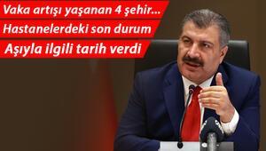 Son dakika haberi: Sağlık Bakanı Fahrettin Kocadan önemli açıklamalar