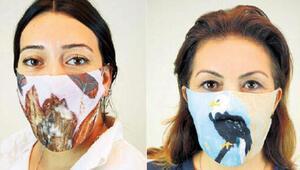 Sanat eseri maskeler