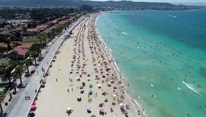 Turizm cenneti Egeye tatilci akını