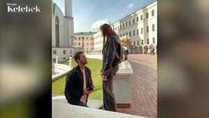 Tuan Tunalı, Rus sevgilisi Yana Mazanova'ya  evlenme teklifi etti