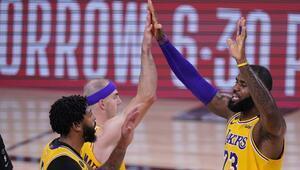 NBAde Gecenin Sonuçları | Lakers, Rocketsı devirdi Seride 3-1 öne geçti...