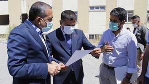 Ercişte depremde hasar gören hastanenin yerine Ağız Diş Sağlığı Merkezi