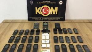 Adıyamanda kaçak cep telefonuna 8 gözaltı