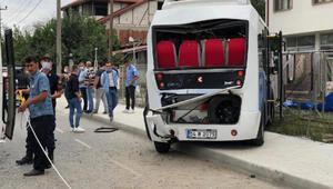Akyazıda zincirleme kaza: 17 yaralı