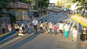 Bucakta Çocuk Sokağı açıldı