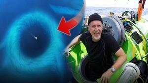 Okyanustaki sıra dışı çukur Ünlü yönetmen dalış gerçekleştirmişti şimdi ise..