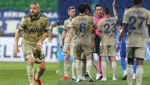 Son Dakika | Rizespor-Fenerbahçe maçında Caner Erkinin penaltısı olay oldu İtirazlar ve tepkiler...