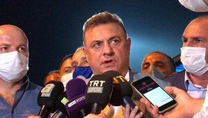 Son Dakika | Rizespor Başkanı Hasan Kartaldan Fenerbahçe maçı sonrası hakem tepkisi