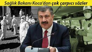 Son dakika haberler: Sağlık Bakanı Kocadan çok çarpıcı koronavirüs açıklamaları