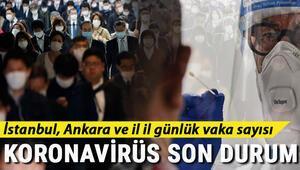 İl il (covid 19) Koronavirüs risk ve yoğunluk haritası 12 Eylül İstanbul, Ankara, İzmir Türkiye corona virüs tablosu belli oldu