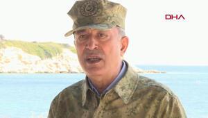 Son dakika haberler: Bakan Akardan Doğu Akdeniz açıklaması