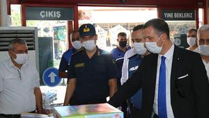 Kozanda maske takmayan 100 kişiye 90 bin TL para cezası