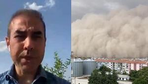 Son dakika: Bünyamin Sürmeli CNN Türkte anlattı: Ankarada kum fırtınası neden oldu