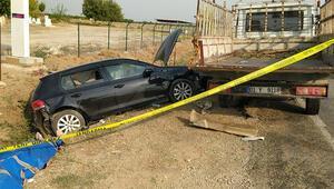 Adanada trafik kazası: 2 ölü, 4 yaralı