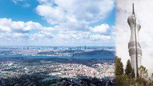 Çamlıca Tepesinin yeni manzarası Bursa'dan Karadeniz'e