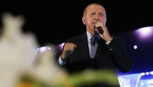 Cumhurbaşkanı Erdoğan'la küçük çocuğun gülümseten diyaloğu