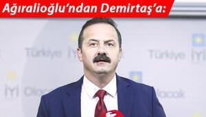 Ağıralioğlu'ndan Demirtaş'a: Şehit evine gidersen tüm sofralar açılır