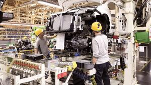 Ağustosta yükselen üretim 8 ayda 2019'un gerisinde