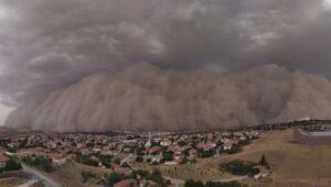İklim değişikliği kum fırtınasına neden oldu