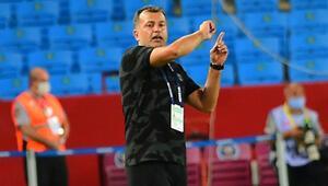 Son Dakika | Beşiktaşta Murat Şahinden Trabzonspor maçı sonrası Kalinic açıklaması