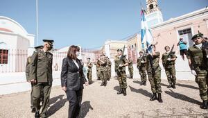 Yunanistan Cumhurbaskanı Meis'e gitti