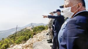 Savunma Bakanı Akar Kaştan barış mesajı verdi