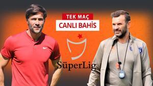 TFF 1. Lig ve Süper Ligin son şampiyonları karşı karşıya Başakşehirin galibiyetine iddaada...