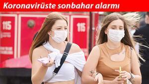 Koronavirüste sonbahar alarmı Ankara'da azalır İstanbul'da artar