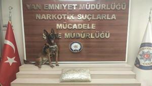 Kargo şirketine operasyon: 10 kilo eroin ele geçirildi