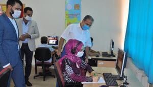 Reyhanlı'da kurulan EBA Destek Noktası'ndan 400 öğrenci yararlanacak