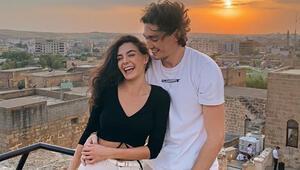 Cedi Osman sevgilisi Ebru Şahini görmek için Mardine gitti
