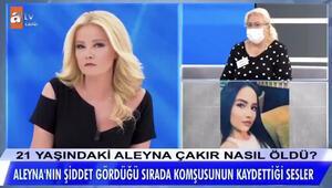 Aleyna Çakır'ın yardım çığlıkları Müge Anlı'da ortaya çıktı