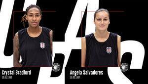 Basketbol haberleri | Crystal Bradford ve Angela Salvadores, Beşiktaşta