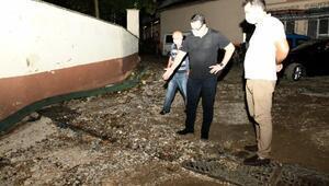 Mustafakemalpaşa'da selin zarar verdiği mağduriyetler giderilecek