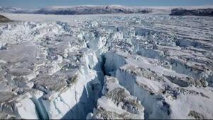 Grönland'da korokutan olay: Büyük bir buzul parçalandı