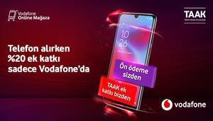 Vodafone aboneleri için yeni telefon almak artık çok daha uygun