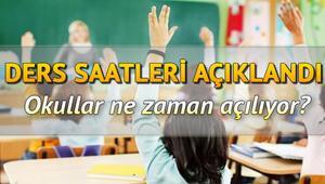 Okul öncesi ve ilkokul 1. sınıflar için okullar ne zaman açılacak MEB 21 Eylül için son dakika açıklama yaptı